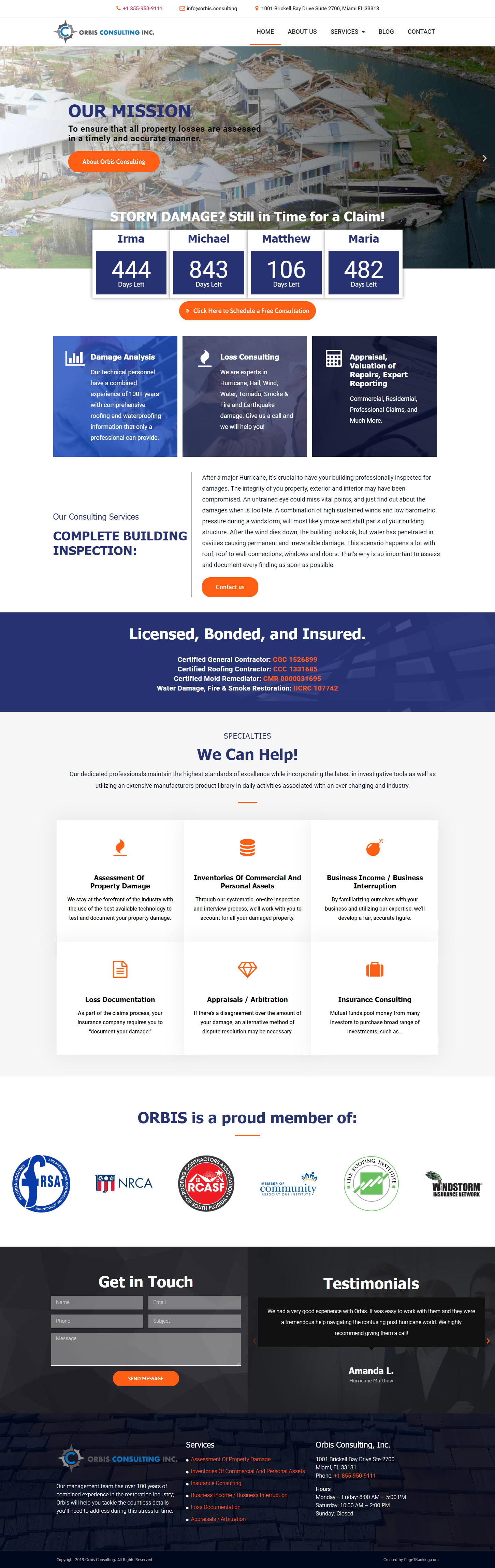 Consultant Home Page